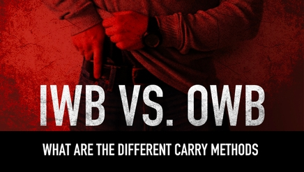 IWB vs OWB | What are the Different Carry Methods